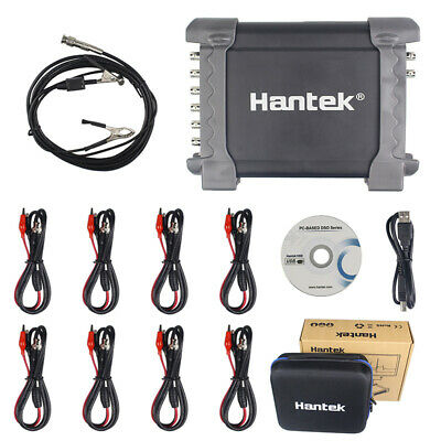 Hantek 1008c 8ch Automotive Daq Diagnostic Generator Handheld Oscilloscope Usb