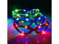 Wholesale-Resellers-24 X Flashing LED Flashing Glasses Night Club Party Wedding