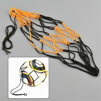 Office & School Supplies Dedicated 5pcs Nylon Net Bag Ball Carrier For 1 Volleyball Basketball Football Soccer Sufficient Supply