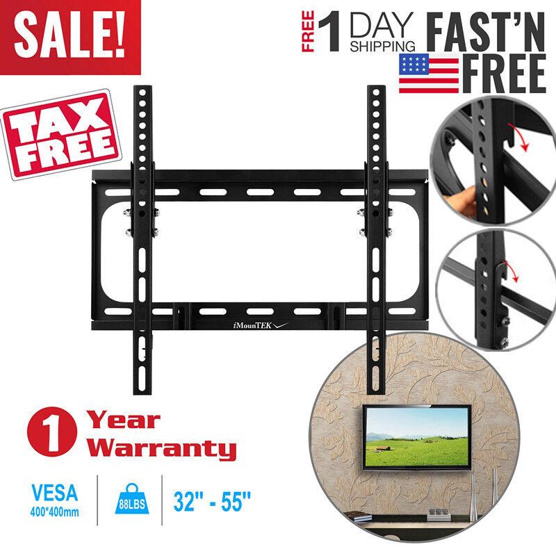 Slim Lcd Led Plasma Flat Tilt Tv Wall Mount Bracket 30 32 36
