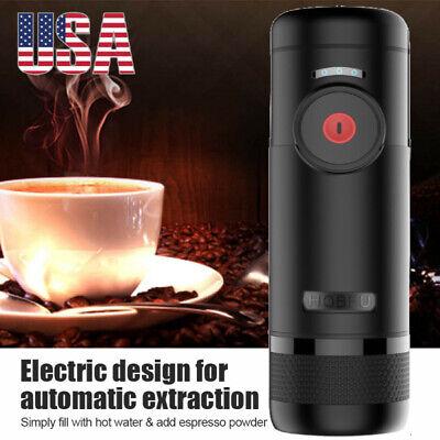 15 par portable espresso maker electric coffee