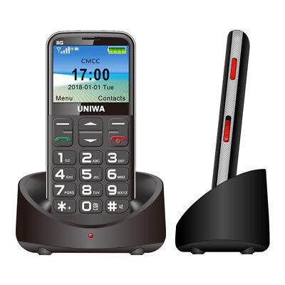 Loud Mobile Phones (3G WCDMA GSM Mobile Phone for Senior Elder BIG KEY FONT LOUD RING T-MOBILE)
