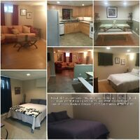 Furnished suite with in walking distance of GPRC &  new hospital