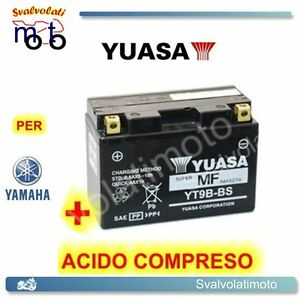 BATTERIA-YUASA-CON-ACIDO-PER-YAMAHA-XP-TMAX-T-MAX-500-2001-2002-MOTO-SCOOTER