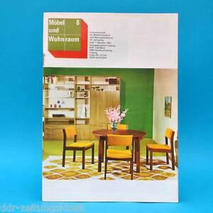 ddr m bel und wohnraum 8 1981 fachzeitschrift k chenmodell dessau cssr modelle ebay. Black Bedroom Furniture Sets. Home Design Ideas