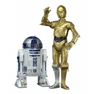 Star Wars 1/10 C-3PO & R2-D2 ARTFX+ 2-Pack Statue set Kotobukiya - Official