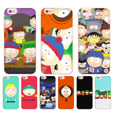 Apple Iphone 5 Shell (South Park Coque Shell Phone Case for Apple iPhone 8 7 6 6S Plus X 5 5S SE)