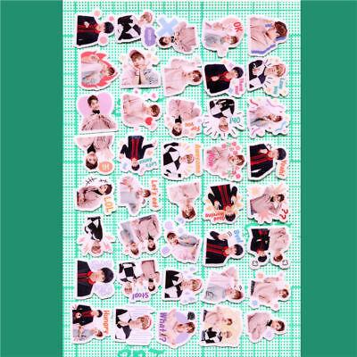 KPOP SHINee Special 2 Decal Stickers ONew KimKibum Min Ho Jonghyun 40pcs/set