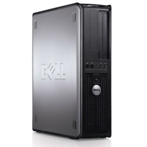 Dell OptiPlex GX780  C2D, 3GHZ 4g ram 250HDD, Win 10 Pro
