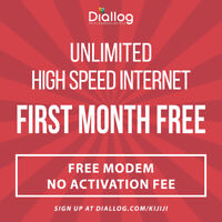 FIRST MONTH FREE Unlimited High Speed Fibre Internet $24.95