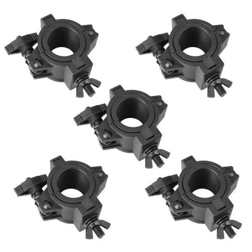 5 Packs Light Clamps Plastic O Mount Fit 3 Size OD 25mm(F14) 36mm(F24) 48mm(F34)