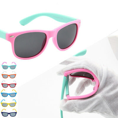 Unisex Kids Chic Polarized Children Baby Soft Sun Glasses UV400 Popular (Kids Polarized Glasses)