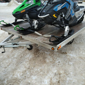 2 place Sled Trailer for sale
