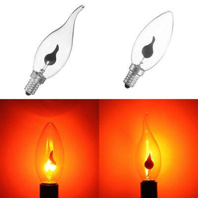 rn Feuer Flamme Kerze Glühbirne Atmosphäre Xmas Lampe (Flimmern Glühbirnen)