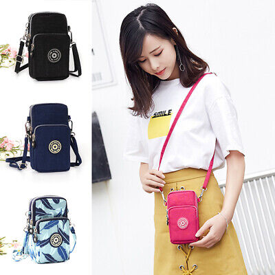 New Cross-body Mobile Phone Shoulder Bag Handbag Case Belt Handbag Purse Wallet