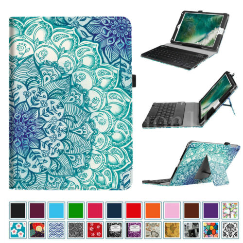 Bluetooth Keyboard Folio Stand Case Cover For iPad 2017 9.7'