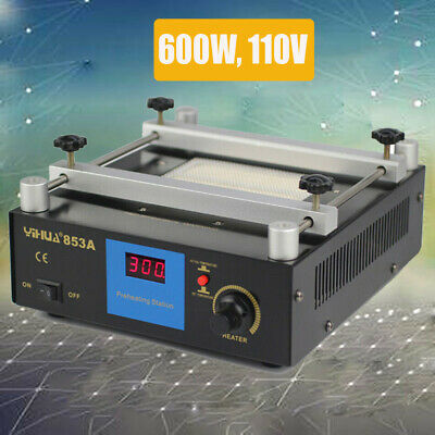853a 110v Preheater Preheating Station Bga Rework Station Infrared Rework Lab Us