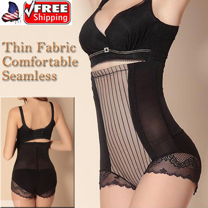 a few days away wide varieties discount Details about High Waist Trainer Bouble Layer Firm Tummy Control Panties  Girdle Abs' Slimmer