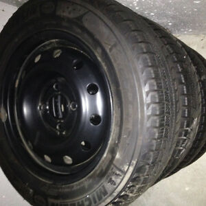 MICHELIN X-ICE TIRES WITH RIMS