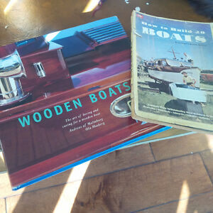 How to Build 20 Boats, Wooden Boats, 2 Books