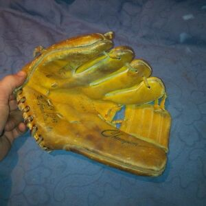 Vintage Antique Boys Leather Right Handed Baseball Glove