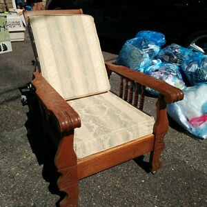 Mission Style Antique Chair