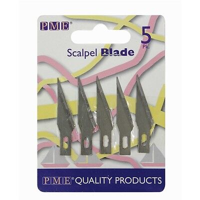 PME Spare Blades for Craft Knife Scalpel 5pk