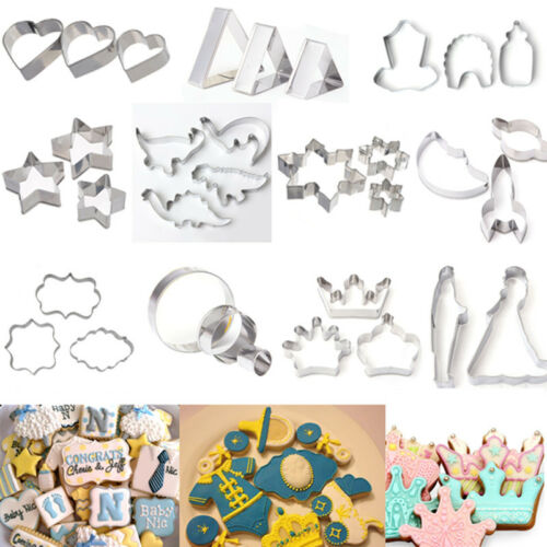 Stainless Steel Pastry Cookie Biscuit Cutter Cake ...