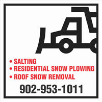 RESIDENTIAL AND COMMERCIAL SNOW REMOVAL