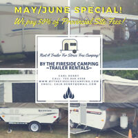 JUNE SPECIAL Camping Trailer Rentals Omemee & Peterborough