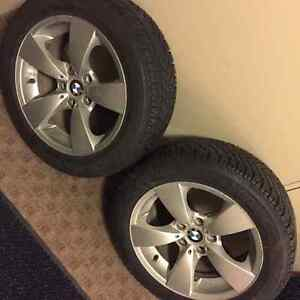 17 inch bmw winter tire from goodyear Strathcona County Edmonton Area image 4