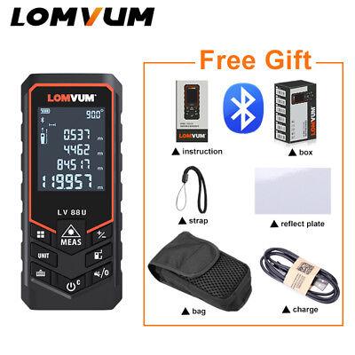 Digital Laser Distance Meter Bluetooth Range Finder Measure Diastimeter Usb 120m