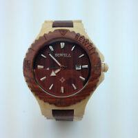 Unique Valentines Day Gift, unisex wood watch. LOT 6