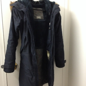 TNA Aspen Parka Navy (Fits as snug XS and slightly loose XXS)