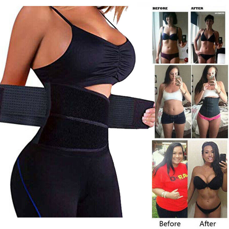 Sport Waist Trainer Weight Loss Men Women Sweat Thermo Wrap
