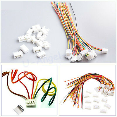 10 pair 4S1P RC lipo battery balance cable male and female with connector plug