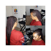 Hair Weaving and Braiding Services