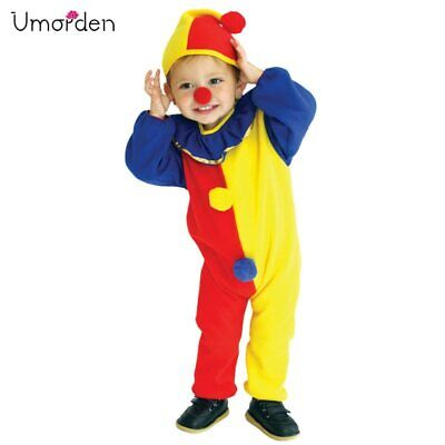 Clown Costumes For Toddlers (Halloween Costumes Naughty Clown Costume for Baby Girls Boys Toddler Fancy)