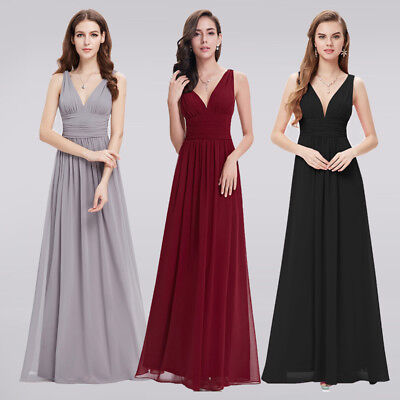 Cheap Formal Wedding Bridesmaid Dresses Long Evening Party Homecoming Dresses - Cheap Party