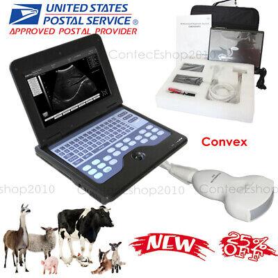 Vet Animal Ultrasound Scanner 3.5 Convex Probe Portable Laptop Machine Fedex Usa