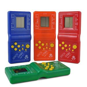 Vintage Tetris Brick handheld Arcade Game Travel LCD Electronic Pocket Toys Fun