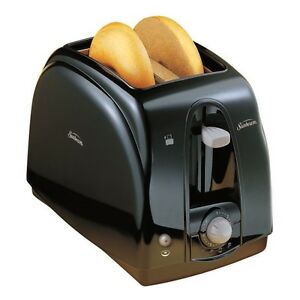 Sunbeam 3910100 2-Slice Wide Slot Toaster Black DESCRIPTION •	2-