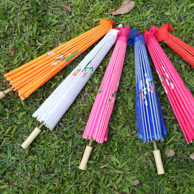 Chinese Umbrella Art Deco Painted Parasol for Wedding Party Oil Paper Umbrella (Paper Parasol)