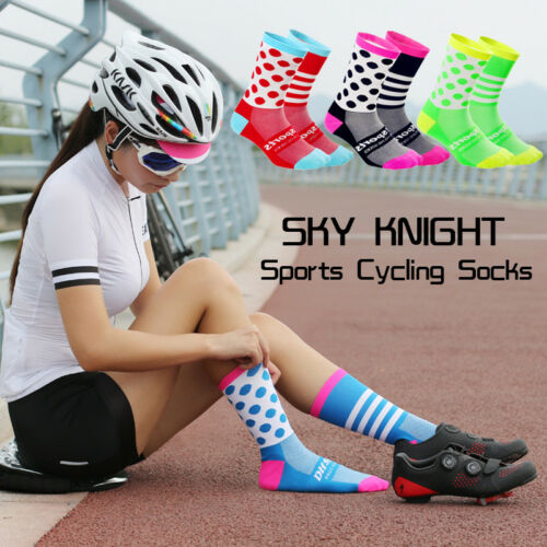 bike wear for men or women with StayDry breathable top weave Cycling socks