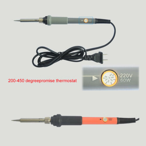 110V 60W US Electric Temperature Welding Adjustable Soldering Iron 200-450℃