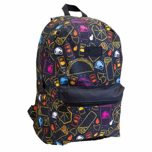 Taco Bell Backpack, Official (School, College, Adults, Kids, Men, Women) Sauce