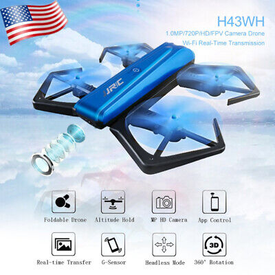 JJRC-H43 Foldable RC Drone with 720P Camera One Key WIFI FPV RC Quadcopter Toy