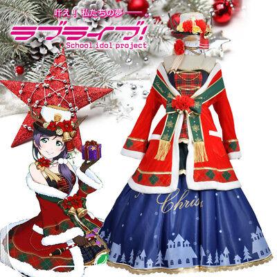 Lovelive Love Live Christmas Weihnachten Awaken Nozomi Tojo Cosplay Kostüm