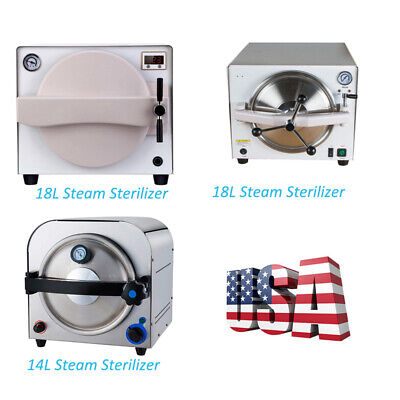 1418l Dental Autoclave Steam Sterilizer Medical Dry Heat Steam Sterilization