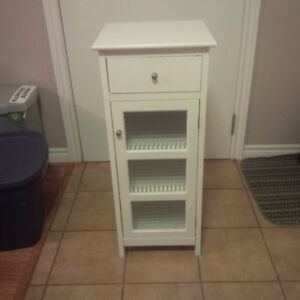 White storage cabinet for sale